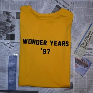 Wonder years '97' T-shirt